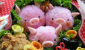 BentoBox PiggiesRice