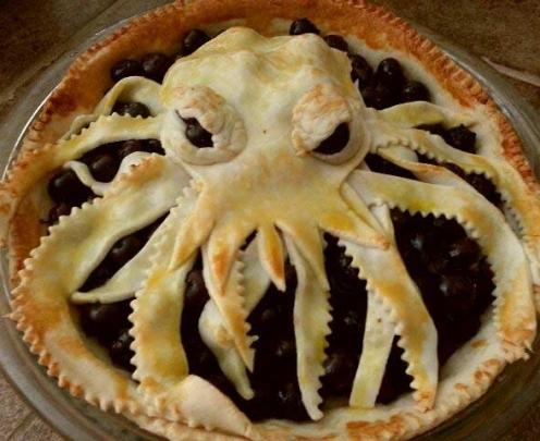 Octopus Berry Pie