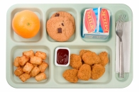 School lunches with Tater Tots
