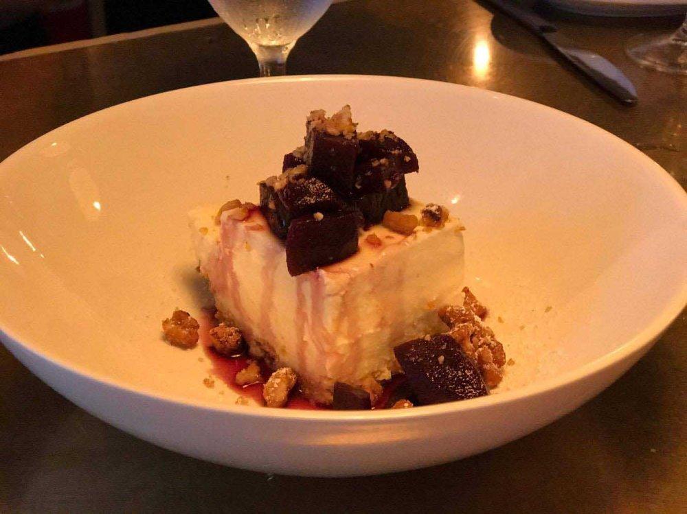Socarrat cheesecake