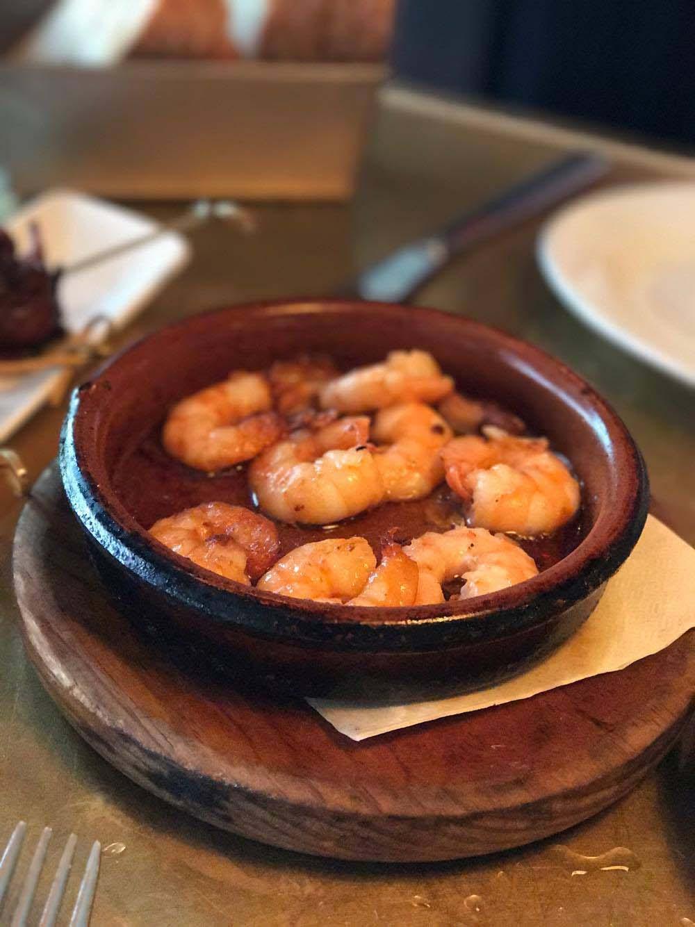 Socarrat shrimp