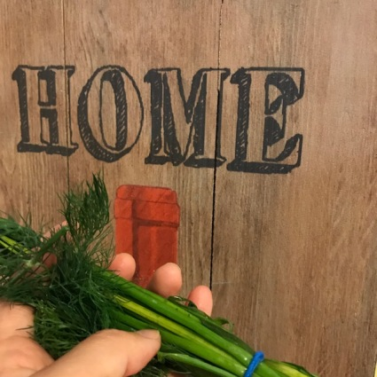 3 dill and chives home