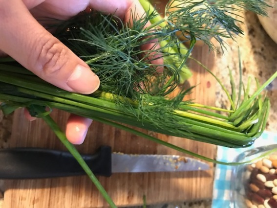 3 dill and chives