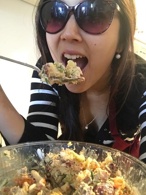 final potato salad eat