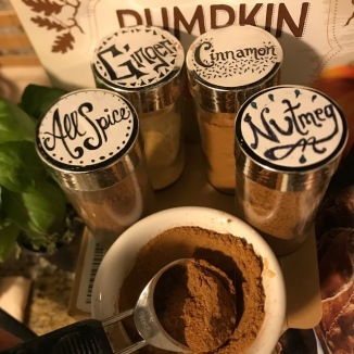 1 Create Pumpkin Pie Spice